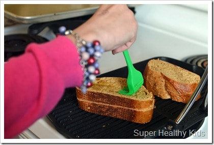 Heart Healthy Turkey Panini Recipe