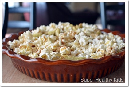 Apple Pie Popcorn Snack Mix Recipe. Regular popcorn is so yesterday! Spice it up a bit with our sweet version!