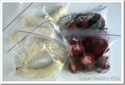 The BEST Frozen Fruit for Smoothies. Use these fruit packs for quick smoothies!