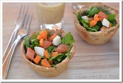 salad in a bread bowl, fun food
