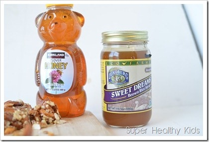 Sweet Nut Clusters Recipe. Make your nut clusters sweeter by adding honey and rice syrup.