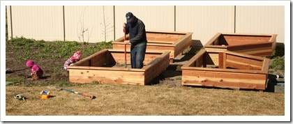How to Make Your Own Garden Boxes. Everything you need to make this happen in your yard this year!