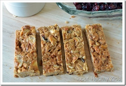 Grab and Go Granola Bars Recipe. Some granola bars were meant to be chewy. This is that bar.
