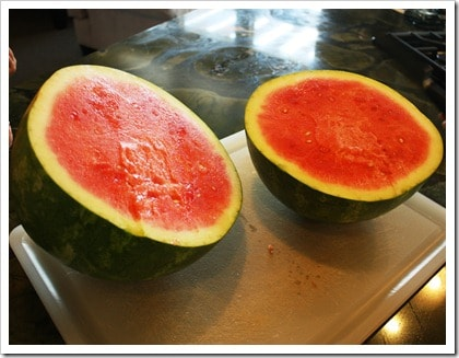 The Best Way to Cut a Watermelon. Hate the mess of cutting a watermelon? Try our method next time!