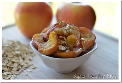Simple Summer Apple Dessert. Kids in the Kitchen! A fast and easy way to make our all-time favorite dessert!