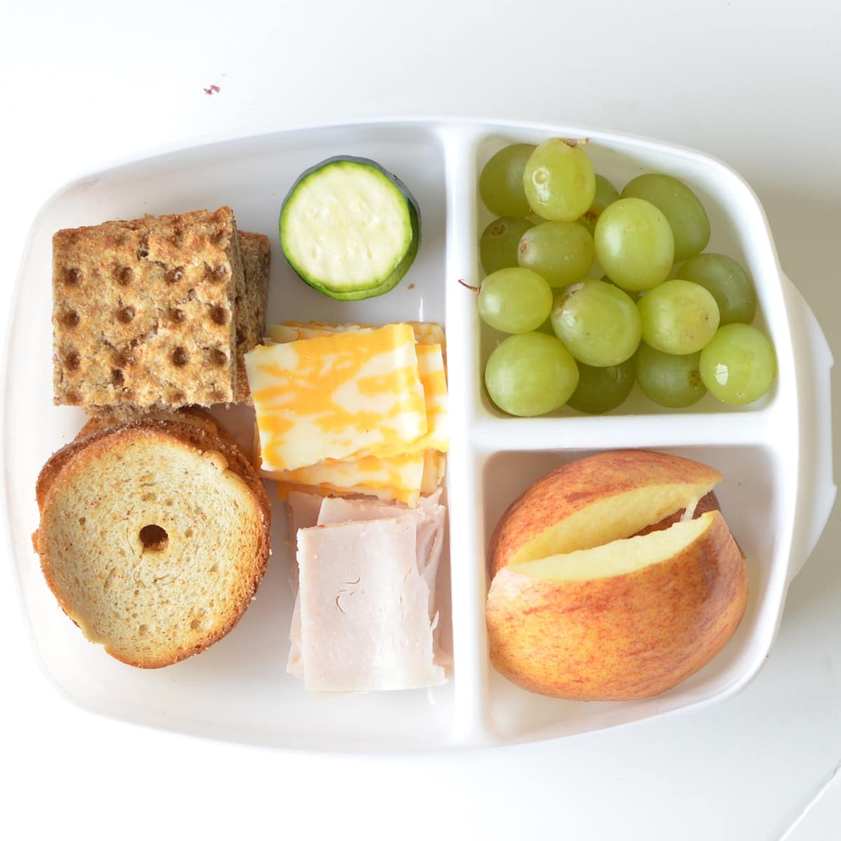 Homemade Lunchable - Super Healthy Kids