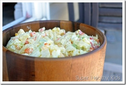 Classic Potato Salad! You only need one recipe for this, so save it for your next potluck or BBQ