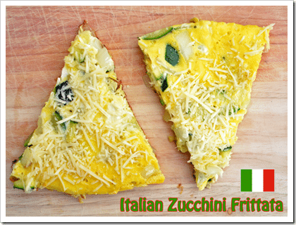 Italian Frittata Recipe. Have you ever added this to your frittata's before? ZUCCHINI!!