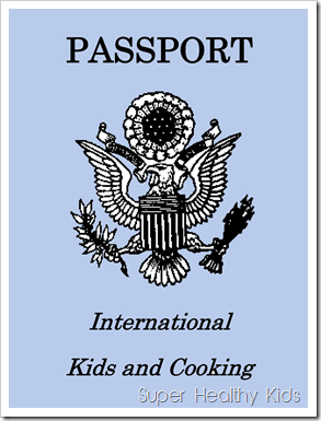 International Cooking for Kids Passport-1