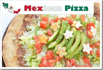 Mexican Pizza for Kids