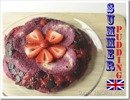 Summer Pudding from England