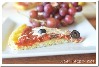 Breakfast Frittata Pizza Recipe. If your kids love eggs for breakfast, you'll want to try this recipe.
