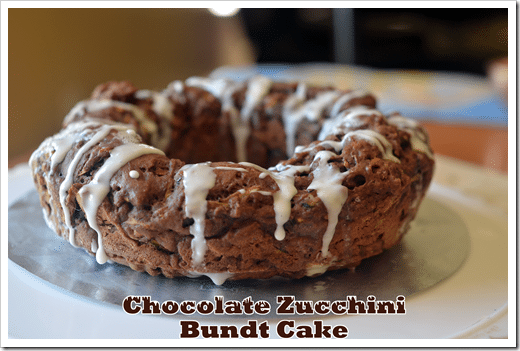 Chocolate Zucchini Cake. Ditch the extra oil and the extra sweetness with this recipe!