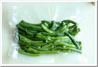 Freezing Green Beans. You probably don't know this about green beans...