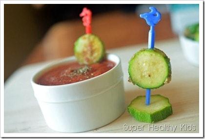zucchini and marinara