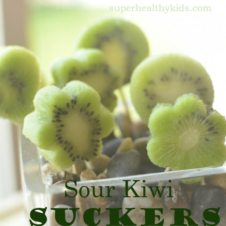 Sour Kiwi Suckers